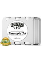 Пиво Pineapple IPA, светлое, нефильтрованное в упаковке 20шт × 0.5л.