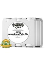 Пиво Brut American Pale Ale, светлое, нефильтрованное в упаковке 20шт × 0.5л.