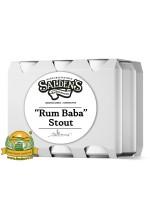 Пиво Rum Baba Stout, темное, нефильтрованное в упаковке 20шт × 0.5л.