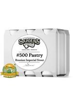 Пиво #500 Pastry Russian Imperial Stout, темное, нефильтрованное в упаковке 20шт × 0.5л.