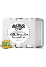 Пиво Milk Sour Ale Passion Fruit, светлое, нефильтрованное в упаковке 20шт × 0.5л.