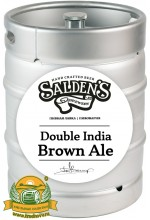 Пиво Double India Brown Ale, темное, нефильтрованное в кегах 30 л.