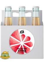 Пиво ABV Not IBU: Citra, светлое, нефильтрованное в упаковке 20шт × 0.33л.