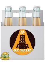 Пиво Old Sparky светлое, нефильтрованное в упаковке 20шт × 0.33л.
