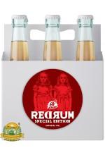 Пиво Redrum, темное, нефильтрованное в упаковке 20шт × 0.33л.