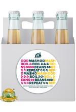 Пиво Mash. Boil. Beans. Repeat., темное, нефильтрованное в упаковке 20шт × 0.33л.