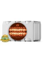 Пиво Candyman, темное, нефильтрованное в упаковке 20шт × 0.33л.