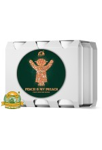 Пиво Peach Is My Preach, светлое, нефильтрованное в упаковке 20шт × 0.5л.