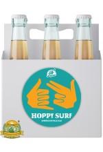Пиво Hoppy Surf Ale, светлое, нефильтрованное в упаковке 20шт × 0.5л.