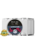 Пиво La Petite Fleur, темное, нефильтрованное в упаковке 12шт × 0.33л.