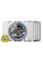 Пиво Wolf's Shepherd, светлое, нефильтрованное в упаковке 12шт × 0.33л.