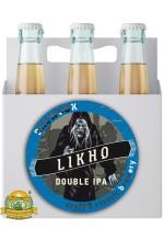 Пиво Likho the One-Eyed, светлое, нефильтрованное в упаковке 12шт × 0.5л.