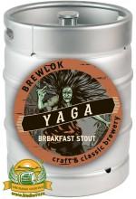 Пиво Baba Yaga, темное, нефильтрованное в кегах 30 л.