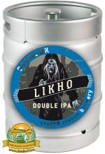 Пиво Likho the One-Eyed, светлое, нефильтрованное в кегах 30 л.