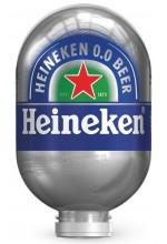 Пиво Heineken 0.0 светлое, фильтрованное в кегах Brewlock 8 л.