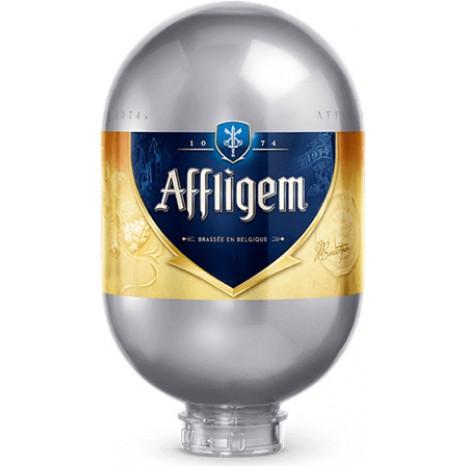 Пиво Affligem Blonde светлое, фильтрованное в кегах Brewlock 8 л.
