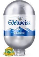 Пиво Edelweiss Wheat светлое, фильтрованное в кегах Brewlock 8 л.