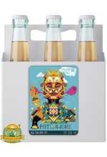Пиво Patchwork, светлое, нефильтрованное в упаковке 12шт × 0.5л.