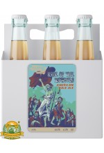 Пиво Rise Of The Zombies, светлое, нефильтрованное в упаковке 12шт × 0.5л.