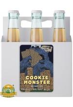 Пиво Cookie Monster, темное, нефильтрованное в упаковке 12шт × 0.5л.