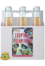 Пиво Tropical Painkiller, светлое, нефильтрованное в упаковке 12шт × 0.5л.