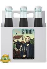 Пиво Бэрримор, темное, нефильтрованное в упаковке 12шт × 0.5л.
