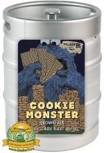 Пиво Cookie Monster, темное, нефильтрованное в кегах 30 л.