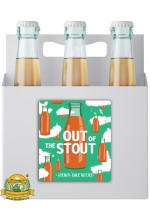 Пиво Out of the Stout: Арахис/Банан/Ваниль, темное, нефильтрованное в упаковке 20шт × 0.5л.