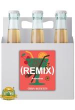 Пиво Remix Amberinez, темное, фильтрованное в упаковке 20шт × 0.5л.