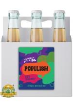 Пиво Populism VicSecret Edition, светлое, нефильтрованное в упаковке 20шт × 0.5л.