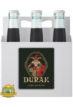 Пиво Durak, темное, нефильтрованное в упаковке 20шт × 0.5л.