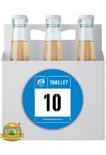 Пиво Trolley 10, светлое, нефильтрованное в упаковке 20шт × 0.5л.