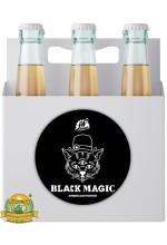 Пиво Black Magic, темное, нефильтрованное в упаковке 20шт × 0.5л.