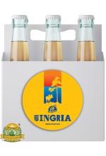 Пиво Ingria, светлое, фильтрованное в упаковке 20шт × 0.5л.