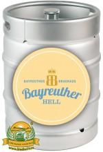 Пиво Bayreuther Hell светлое, фильтрованное в кегах 30 л.
