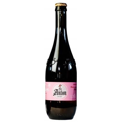 """Сидр яблочный St. Anton """"Розовый"""" полусладкий в бутылках 0.5 л."""